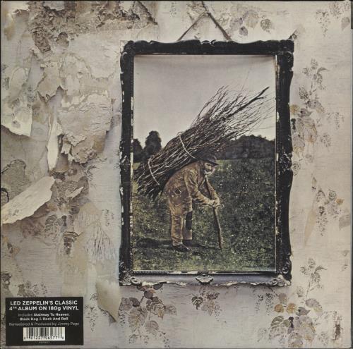 Led Zeppelin Led Zeppelin IV - 180gm Vinyl vinyl LP album (LP record) German ZEPLPLE690194