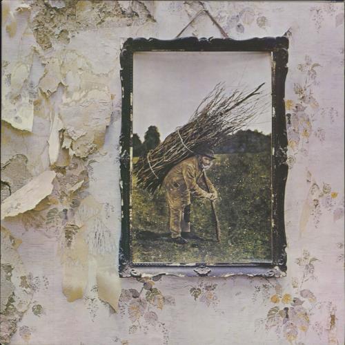 Led Zeppelin Led Zeppelin IV - 4th - Crossed out B vinyl LP album (LP record) UK ZEPLPLE712922