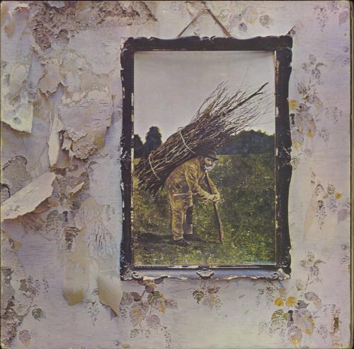 Led Zeppelin Led Zeppelin IV - 6th - Top - EX vinyl LP album (LP record) UK ZEPLPLE584475