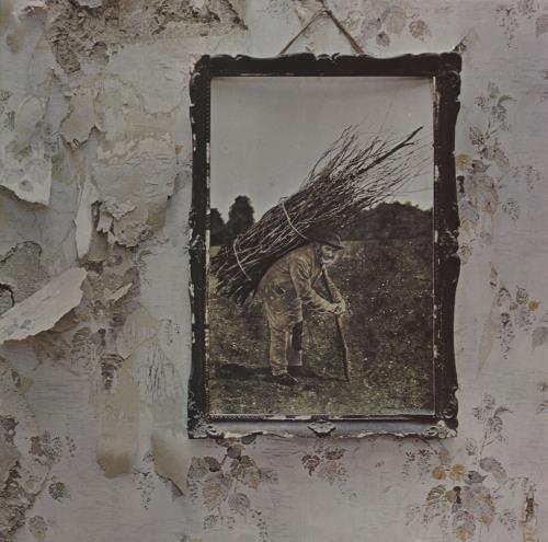 Led Zeppelin Led Zeppelin IV - 7th - EX vinyl LP album (LP record) UK ZEPLPLE671260