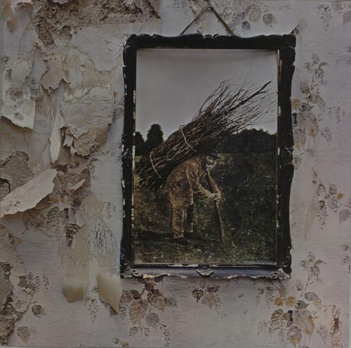 Led Zeppelin Led Zeppelin IV - 80s - EX vinyl LP album (LP record) German ZEPLPLE627163