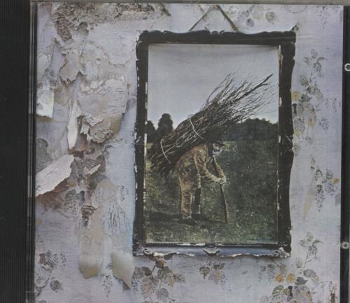 Led Zeppelin Led Zeppelin IV CD album (CDLP) German ZEPCDLE748015