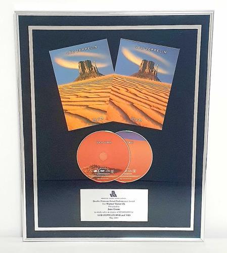 Led Zeppelin Led Zeppelin award disc UK ZEPAWLE761434