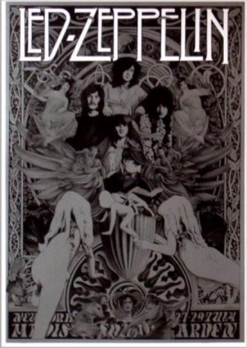 Led Zeppelin Madison Square Garden Poster Us Poster 373440