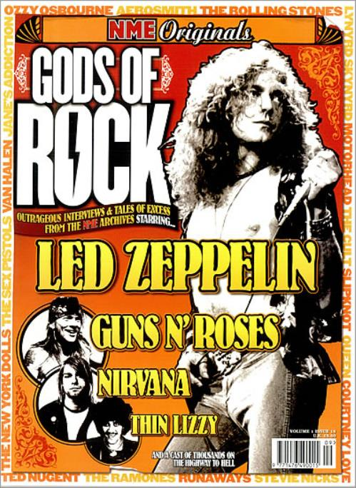 Led Zeppelin NME Originals Gods Of Rock magazine UK ZEPMANM486015