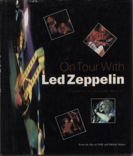 Led Zeppelin On Tour With Led Zeppelin book UK ZEPBKON673316