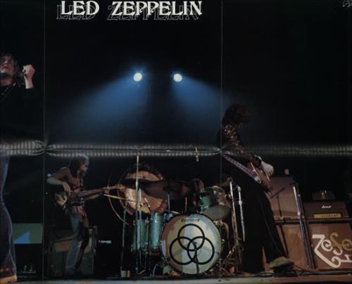 Led Zeppelin Physical Graffiti + poster 2-LP vinyl record set (Double Album) Japanese ZEP2LPH576174