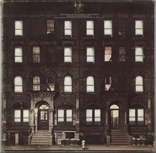 Led Zeppelin Physical Graffiti - 1½ Press 2-LP vinyl record set (Double Album) UK ZEP2LPH577973