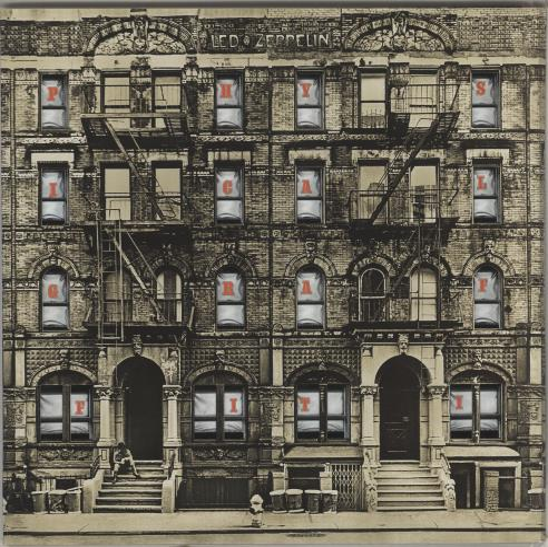 Led Zeppelin Physical Graffiti - 180gm Deluxe 3-LP vinyl record set (Triple Album) German ZEP3LPH709079