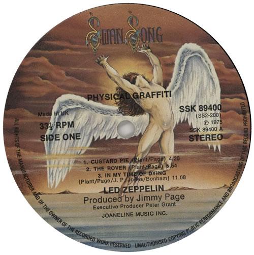 Led Zeppelin Physical Graffiti 1st Ex Uk 2 Lp Vinyl