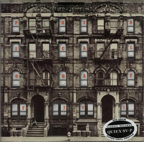 Led Zeppelin Physical Graffiti - 200gm Quiex - Sealed 2-LP vinyl record set (Double Album) US ZEP2LPH591898