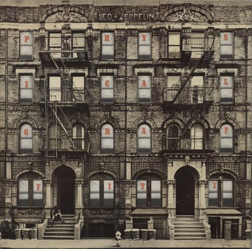 Led Zeppelin Physical Graffiti - 2nd - VG 2-LP vinyl record set (Double Album) UK ZEP2LPH614371