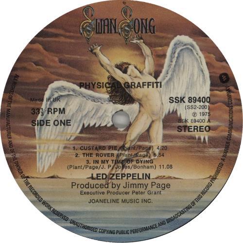 Led Zeppelin Physical Graffiti - 2nd - VG 2-LP vinyl record set (Double Album) UK ZEP2LPH614371