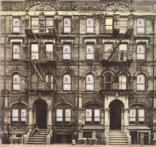 Led Zeppelin Physical Graffiti - 2nd 2-LP vinyl record set (Double Album) UK ZEP2LPH565037
