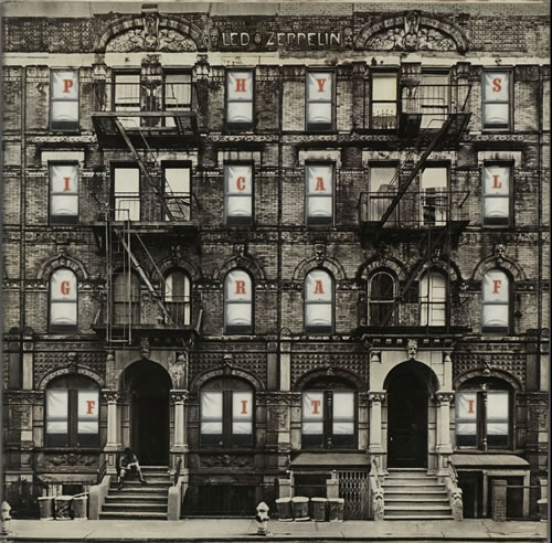 Led Zeppelin Physical Graffiti - 3rd - EX 2-LP vinyl record set (Double Album) UK ZEP2LPH582062