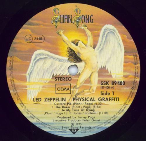 Led Zeppelin Physical Graffiti - 80s - EX 2-LP vinyl record set (Double Album) German ZEP2LPH389500