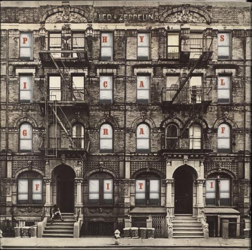 Led Zeppelin Physical Graffiti 1st Uk 2 Lp Vinyl Record