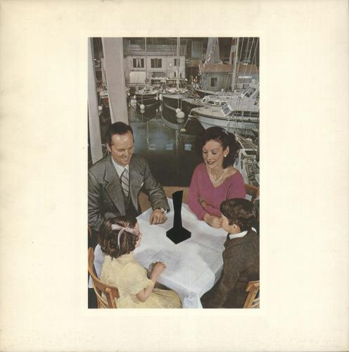 Led Zeppelin Presence - 1½ vinyl LP album (LP record) UK ZEPLPPR718597