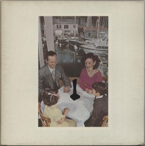 Led Zeppelin Presence - 1st - VG vinyl LP album (LP record) UK ZEPLPPR579144