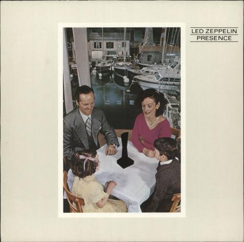 Led Zeppelin Presence - 80s - EX vinyl LP album (LP record) German ZEPLPPR731581
