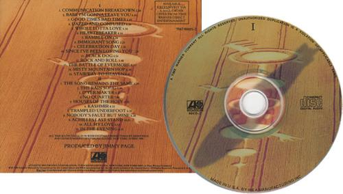 Led Zeppelin Remasters Mail Order Issue Us 2 Cd Album