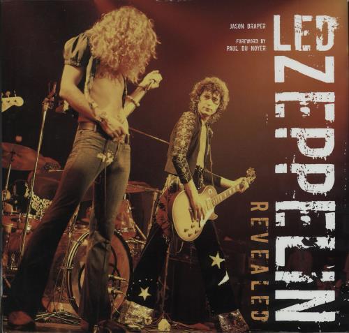 Led Zeppelin Revealed book UK ZEPBKRE673314