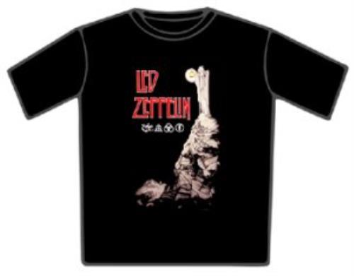 Led Zeppelin Stairway To Heaven T-Shirt - Medium t-shirt UK ZEPTSST349240