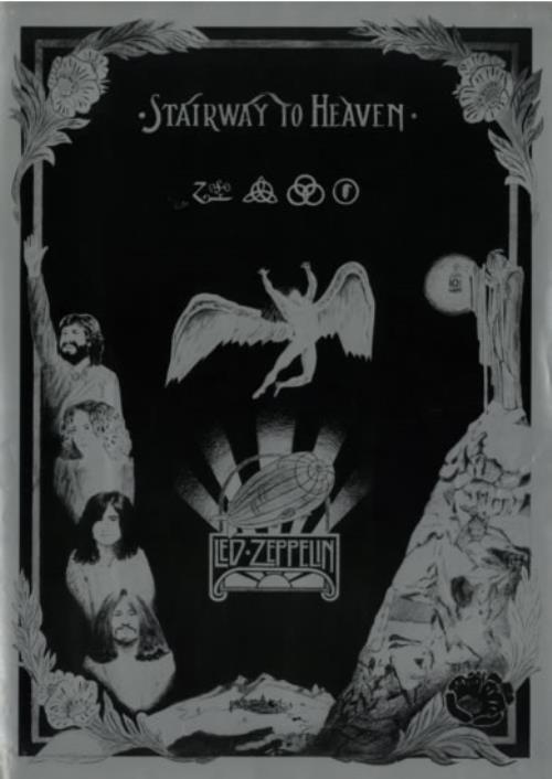 Led Zeppelin Stairway To Heaven Uk Poster 594599