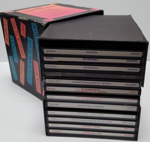 Led Zeppelin Ten Years Gone Us Box Set 173596