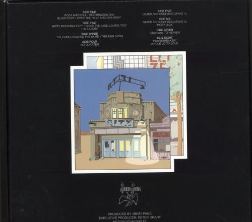 Led Zeppelin The Song Remains The Same - 180gm Vinyl Box Set US ZEPVXTH601933
