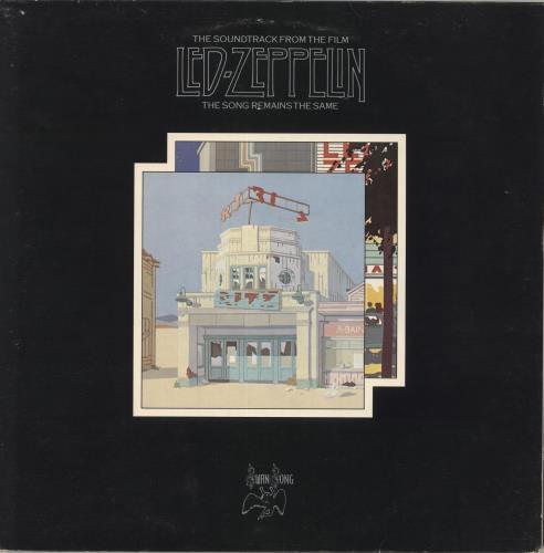 Led Zeppelin The Song Remains The Same - 1st - EX 2-LP vinyl record set (Double Album) UK ZEP2LTH603408