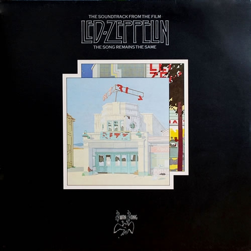 Led Zeppelin The Song Remains The Same - 1st with 3rd Label Variant 2-LP vinyl record set (Double Album) UK ZEP2LTH637485