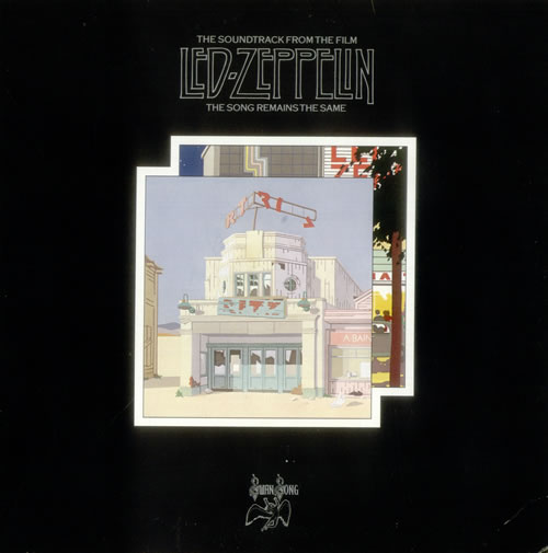 Led Zeppelin The Song Remains The Same Ex German 2 Lp