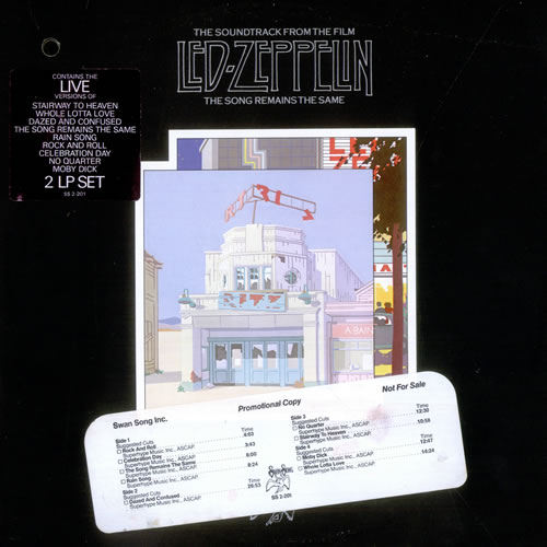 Led Zeppelin The Song Remains The Same Timing Strip Us 2