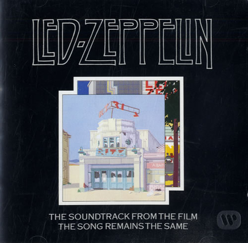Led Zeppelin The Song Remains The Same 2 CD album set (Double CD) German ZEP2CTH562293