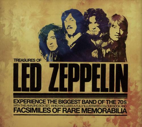 Led Zeppelin Treasures Of Led Zeppelin book UK ZEPBKTR639443