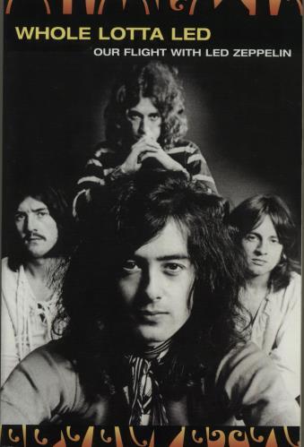 Led Zeppelin Whole Lotta Led book US ZEPBKWH673345