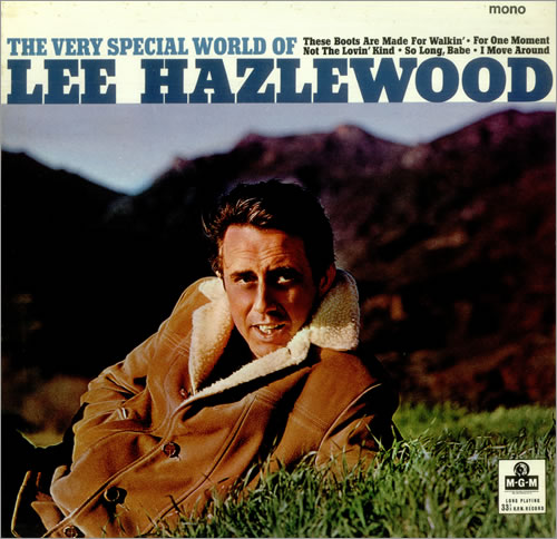 Lee Hazlewood The Very Special World Of Lee Hazlewood - Factory Sample vinyl LP album (LP record) UK LHZLPTH456612
