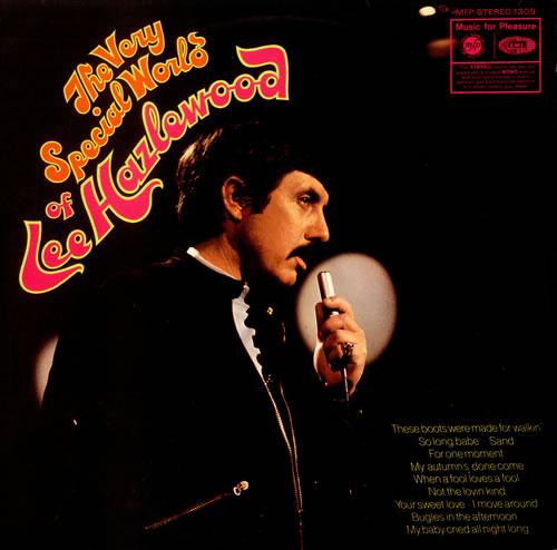 Lee Hazlewood The Very Special World Of Lee Hazlewood vinyl LP album (LP record) UK LHZLPTH131618
