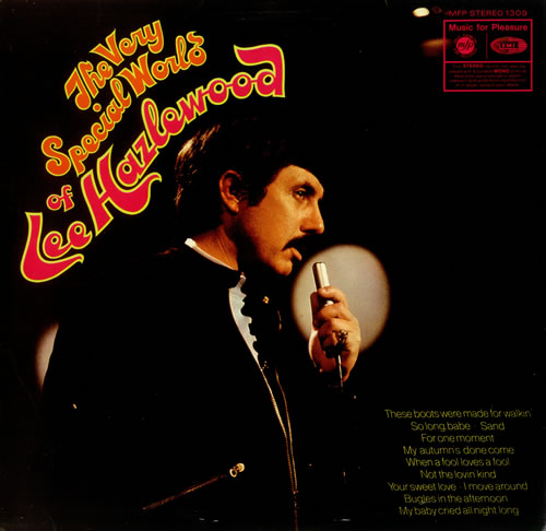 Lee Hazlewood The Very Special World Of Lee Hazlewood vinyl LP album (LP record) UK LHZLPTH455051