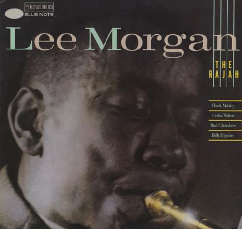 Lee Morgan The Rajah vinyl LP album (LP record) French L\MLPTH405178