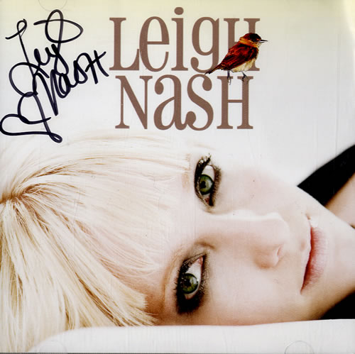 Leigh Nash Blue On Blue - Autographed CD album (CDLP) US LGSCDBL543645