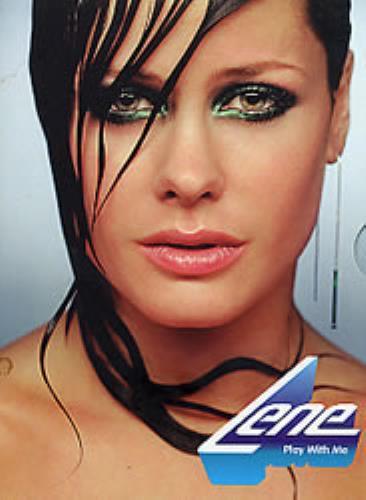 "Lene Play With Me - 5½"" x 7½"" DVD style pack CD album (CDLP) US LA1CDPL273978"