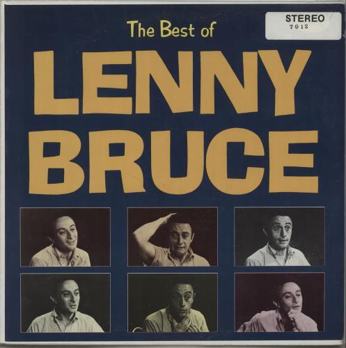 Lenny Bruce The Best Of Lenny Bruce vinyl LP album (LP record) US LNYLPTH667795
