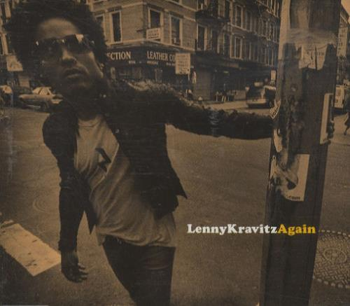 "Lenny Kravitz Again CD single (CD5 / 5"") UK KVZC5AG279955"