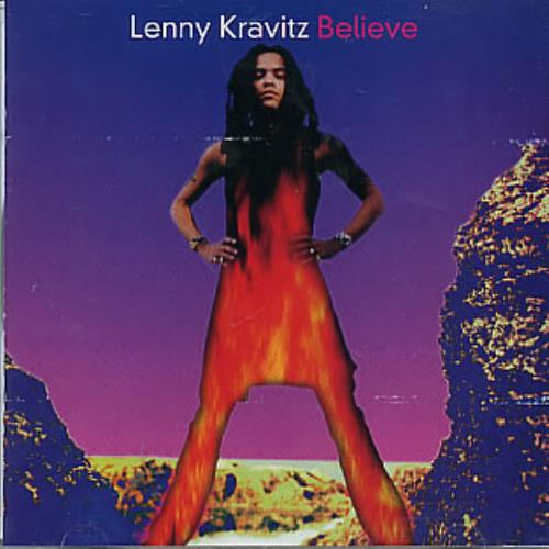 "Lenny Kravitz Believe CD single (CD5 / 5"") US KVZC5BE289511"