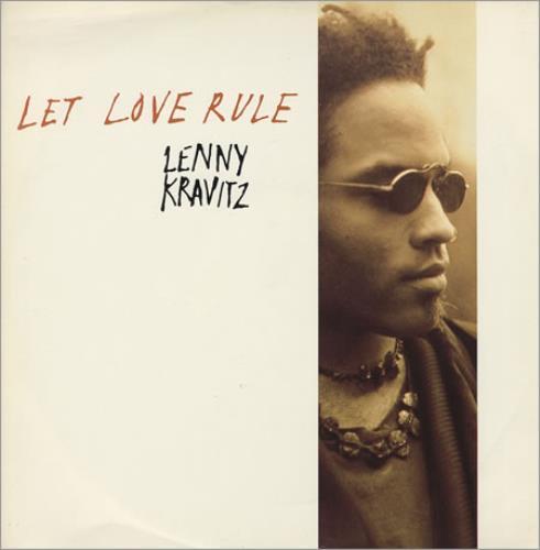 "Lenny Kravitz Let Love Rule 12"" vinyl single (12 inch record / Maxi-single) UK KVZ12LE19995"