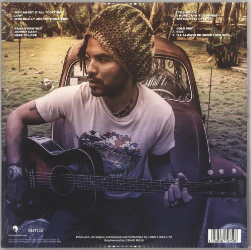 Lenny Kravitz Raise Vibration - Sealed picture disc LP (vinyl picture disc album) UK KVZPDRA710611
