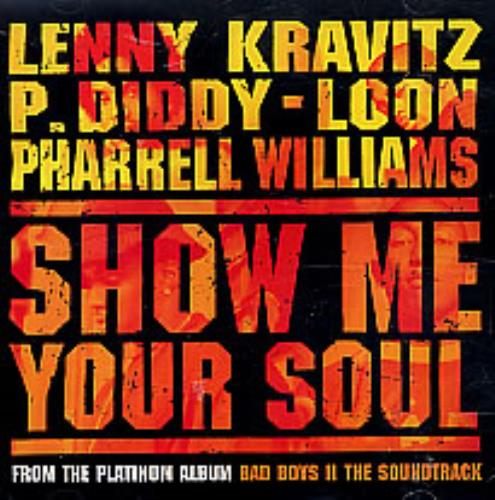 "Lenny Kravitz Show Me Your Soul CD single (CD5 / 5"") US KVZC5SH260459"