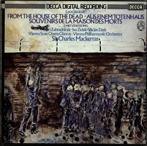 Leoš Janácek From The House Of The Dead / Aus Einem Totenhaus / Souvenirs De La Maison Des Morts / Z Mrtvého Domu Vinyl Box Set UK JKAVXFR690478